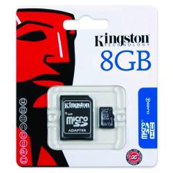 Kingston Class 4 Micro-SDHC Secure Digital - microSD 8 GB (4 class)