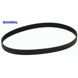 B200MXL Timing Belt 200 Teeth Belt Width 6mm Length 406.4mm Rubber Ribbed Belt