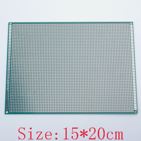 15x20 cm PROTOTYPE PCB 2 layer 15*20 panel Universal Board double side