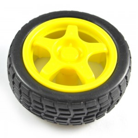 Smart Car Model Plastic Robot Tire Wheel