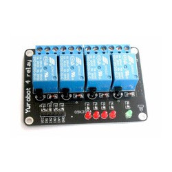 4 Channel Relay Module without light coupling 5V