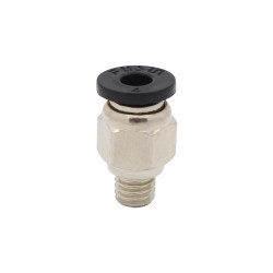 Pneumatic PT Thread Push In Connectors Fittings for 4mm Tube M6 metric