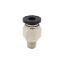 Pneumatic PT Thread Push In Connectors Fittings for 4mm Tube metric