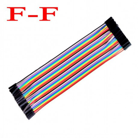 Female female wire x40 20cm