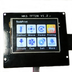 MKS Tft28 LCD Tactil en color para impresoras 3D