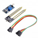 Soil moisture detection humidity sensor