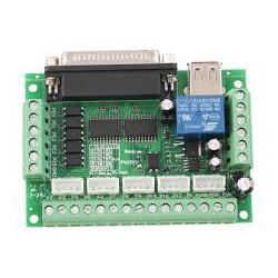 Placa de control CNC 5 Ejes por USB - Mach 3