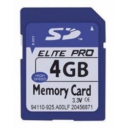 Tarjeta de Memoria 4 GB SD