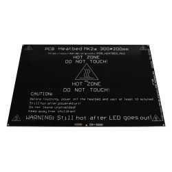 MK2A 300*200*3.0mm RepRap RAMPS 1.4 PCB Aluminum Heatbed heated bed MK3 For 3D Printer
