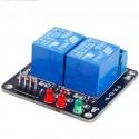 Módulo relé 5V compatible con Arduino 2 canales
