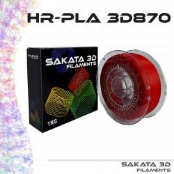 PLA 3D870 1.75mm Rojo