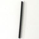 Pin conector macho 90º