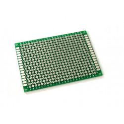 Placa perforada para circuitos y prototipos PCB 7x9 cm
