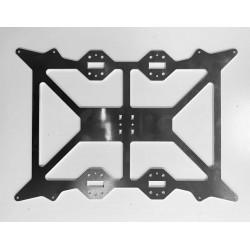 Soporte en aluminio para cama 300x200