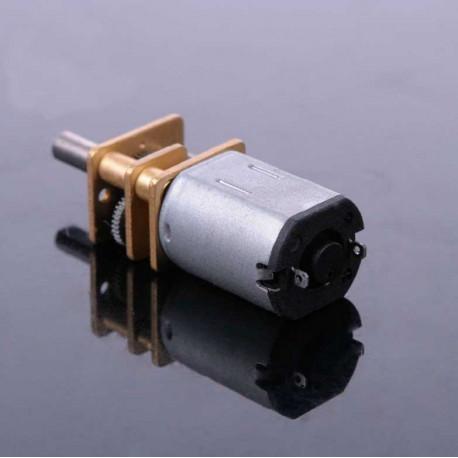 Micro motor de contínua con reductora metálico N20 12V 600 RPM 1:5