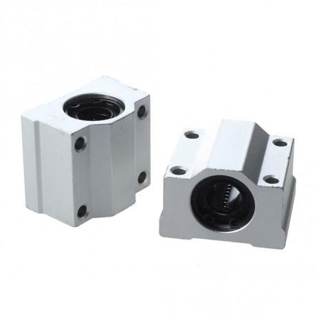 SC8UU rodamiento lineal con soporte en aluminio para 8mm