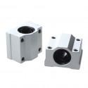 SC12UU rodamiento lineal con soporte en aluminio para 12mm