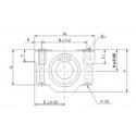Linear Bearing Platform (Small) - 12mm Diameter - SC12LUU