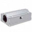 SC8LUU rodamiento lineal con soporte en aluminio para 8mm