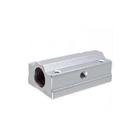 SC10LUU rodamiento lineal con soporte en aluminio para 10mm