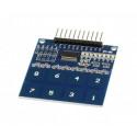 Sensor táctil capacitivo 8 botones