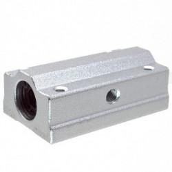 SC12LUU rodamiento lineal con soporte en aluminio para 12mm