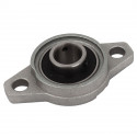 KFL12 12mm Dia Bore Aluminum Alloy Self- Aligning Flange Bearing Oval Pillow Block