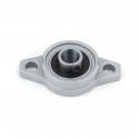 KFL10 10mm Dia Bore Aluminum Alloy Self- Aligning Flange Bearing Oval Pillow Block