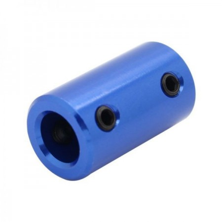 Acople azul 5x8mm CNC