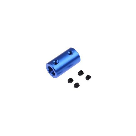 CNC Engraving MachinesDIY Blue Aluminum AlloyCoupling 5*5mm