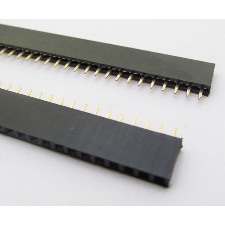 Pin conector hembra 2.54mm