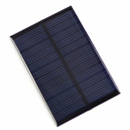 Polycrystalline 70*70mm 5V 100mA Mini Solar Panel without DC