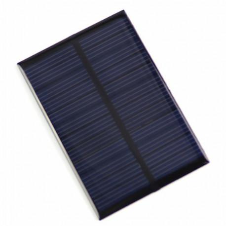 Mini panel solar de policristalina 5V 100mA sin conector DC