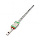 Mini MGN12 12mm miniature linear rail slide 12mm L- 500mm rail + MGN12H carriage