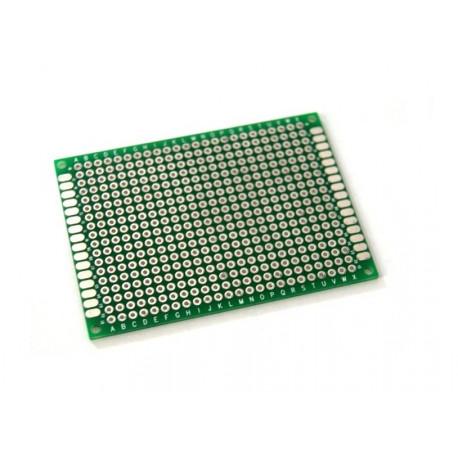 Placa Perforada Para Circuitos Y Prototipos Pcb 9x15 Cm