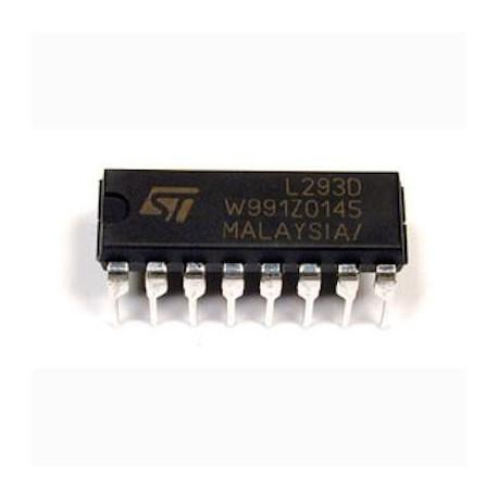 Controlador de motor L293D