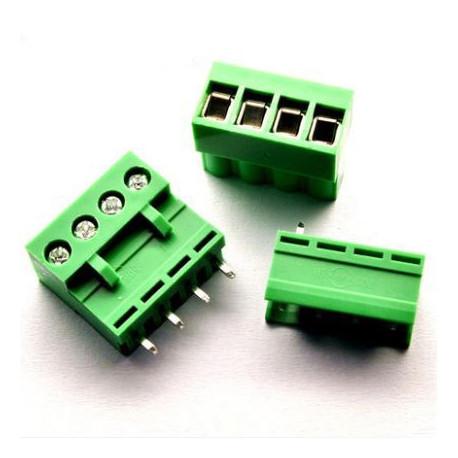 Clema conector PCB 4 conexiones