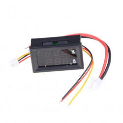 Mini Digital Voltmeter Ammeter DC 100V 10A