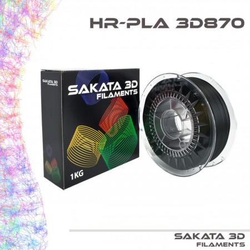 PLA 3D870 2.85mm Negro