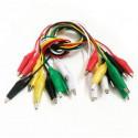 Cables con pinza de cocodrilo