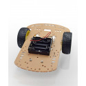 Transparent Robot Auto Chassis