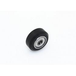 CNC machine big plastic passive round wheel with 625B bearings