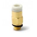 Racor neumática para tubo PTFE de 4mm ext M6 - Ender 3