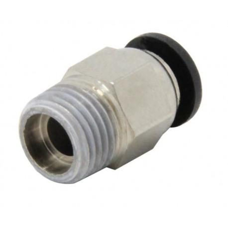 Racor neumática para tubo PTFE de 4mm ext rosca M10 x 1.5mm