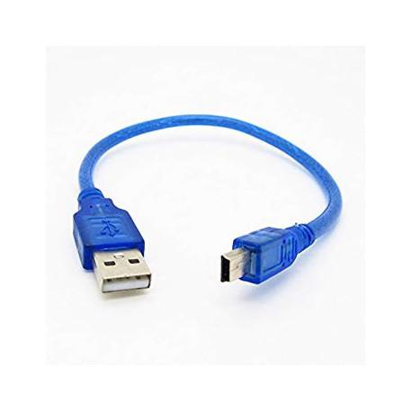 CABLE MINI USB 1 METRO