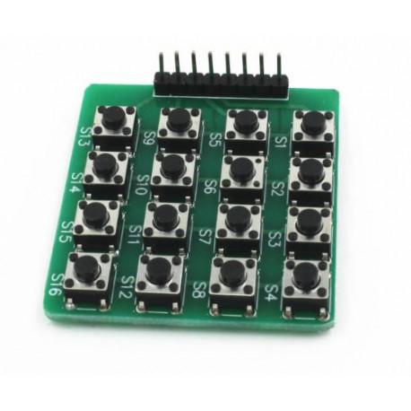 Matriz 16 botones