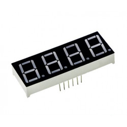 0.56 inch Red 4 Digit 7 Segment LED Display CC 12pin