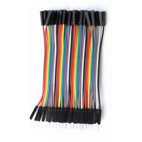 Cable macho hembra x40 10cm