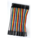 Cable hembra hembra x40 10cm
