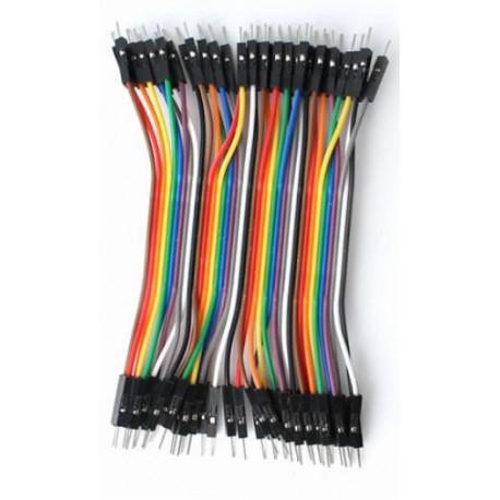Cable macho macho x40 10cm